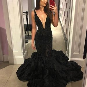 Black Jovani Couture